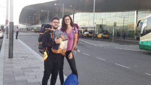 A punt de marxar... des de l'Aeroport del Prat